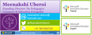 Meenakshi's Signature Block